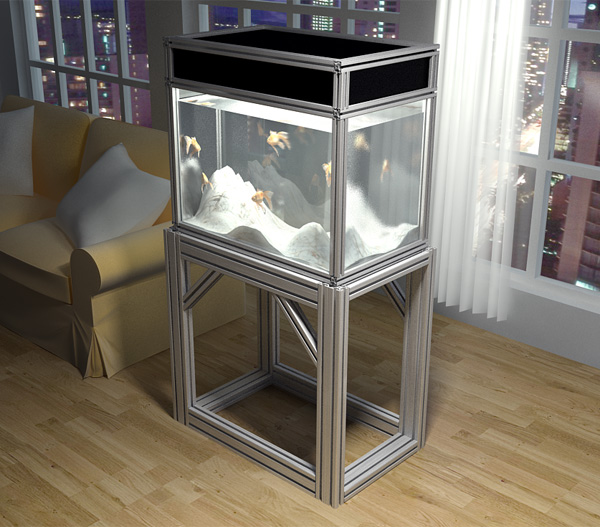 Aquarium Stand 80 20 Few Things Diy Aquarium Tank Stand