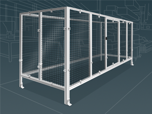 Aluminum Guarding and Enclosures