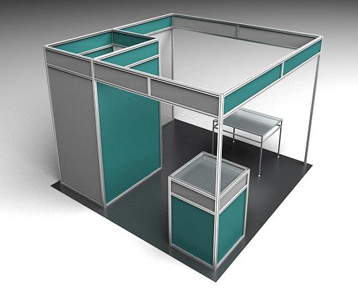 Modular Exhibition Stands Questions : Framexpert custom industrial aluminum furniture