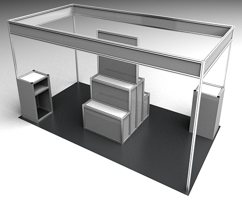 Exhibition Stand Weight : Framexpert display exhibits
