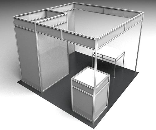 Exhibition Stand Weight : Framexpert custom exhibit stands