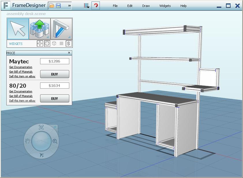 Framexpert Custom Industrial Aluminum Furniture