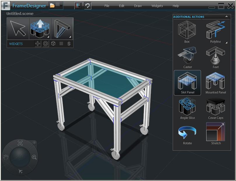 FrameXpert Frame Designer screenshot